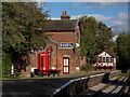 SJ3377 : Hadlow Road Station by J Scott