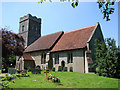 TM1659 : Pettaugh St Catherine�s church by Adrian S Pye