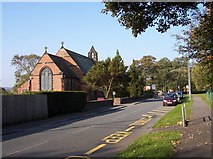 SD5408 : St. Anne's church on Church Road Shevington by Raymond Knapman