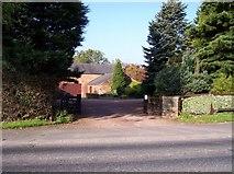 SD5409 : Entrance to The Gables on Paradise Farm by Raymond Knapman