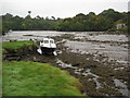 SW7724 : Low tide in Gillan Creek by Philip Halling