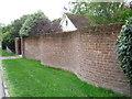 SZ3294 : Serpentine Wall, All Saints Road, Lymington by Alex McGregor