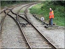 SK2853 : Ecclesbourne Valley Railway, Wirksworth by Dave Hitchborne