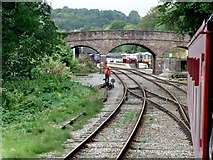 SK2953 : Ecclesbourne Valley Railway, Wirksworth by Dave Hitchborne
