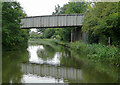 SP0172 : Bridge No 62 at Alvechurch, Worcestershire by Roger  Kidd