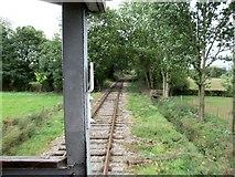 SK3244 : Ecclesbourne Valley Railway, near Hazelwood by Dave Hitchborne