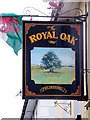 SN4562 : Sign for the Royal Oak by Miss Steel