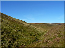 SH8214 : The valley of the upper Nant Maesglase by Richard Law