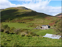 SH8116 : Penantigi Uchaf and Craig y Bwlch by Richard Law