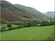 SH8216 : Pentrewern Farm in Cwm Cerist by Richard Law