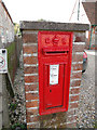 TG0738 : Edward VII postbox in Holt, Norfolk by Adrian S Pye
