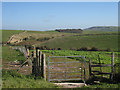 TQ3904 : Bridleway at Breaky Bottom by Oast House Archive