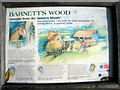 TQ5942 : Information board for Barnett's Wood Farm by Oast House Archive