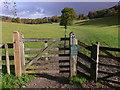 TQ1451 : Footpath through field near Bagden Farm : Week 44