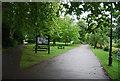 TQ1770 : Thames Path, Canbury Gardens by N Chadwick