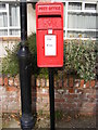 TM3877 : Chediston Street Postbox by Adrian Cable