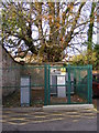 TM3877 : Electricity Sub-station in Halesworth Car Park by Adrian Cable