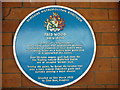 Photo of Fred Wood blue plaque