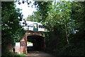 TQ5745 : Railway bridge, Haysden Country Park by N Chadwick