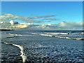 NZ6621 : Saltburn Seascape : Week 45