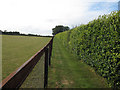 TL6959 : Footpath to Broad Green by Hugh Venables