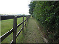 TL6855 : Footpath from Kirtling Green by Hugh Venables