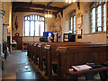 TQ3461 : All Saints church, Sanderstead: north aisle by Stephen Craven