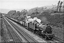 SE0026 : Eastbound empties train between Hebden Bridge and Mytholmroyd by Ben Brooksbank