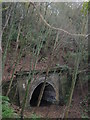 TR1536 : Tunnel on the Hythe and Sandgate Railway  by David Anstiss