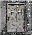 J3471 : Fire Hydrant cover, Belfast by Rossographer