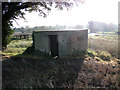 TM4687 : Pillbox east of Ellough airfield by Adrian S Pye
