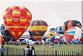 ST5571 : Balloon Festival by Peter Randall-Cook