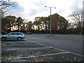 TQ4067 : Norman Park: car park by Stephen Craven