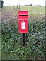 TM3881 : The Crossways Spexhall Postbox by Adrian Cable