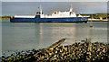 "D4102 : The ""St Cybi"" at Larne by Albert Bridge"