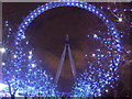TQ3079 : London Eye at night by Paul Gillett