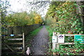 TQ5236 : National  Cycle Network Route 21 off Corseley Rd by N Chadwick