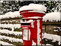 J3874 : Pillar box, Belfast by Albert Bridge