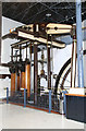 TQ1878 : Kew Bridge Steam Museum - Woolf compound beam engine by Chris Allen