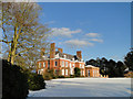 TG4819 : Burnley Hall at East Somerton in Winter by Adrian S Pye