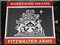 TR2554 : Fitzwalter Arms Pub Sign (close-up) by David Anstiss