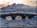 NG4829 : Old bridge, Sligachan by Richard Dorrell