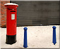 J3973 : Pillar box, Belfast by Albert Bridge
