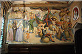 SK9771 : St.Blaise Chapel mural by Richard Croft