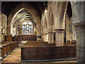 SJ4474 : St Mary's Church, Thornton-le-Moors, interior by John Lord
