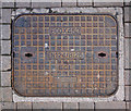 J5082 : Manhole cover, Bangor by Rossographer