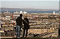 NT2674 : Edinburgh from the Calton Hill by Walter Baxter