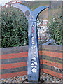 TQ7908 : National Cycle Milepost by Oast House Archive