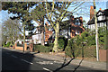 SP1676 : Large houses, Widney Road, Bentley Heath by Robin Stott