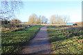 TL1666 : Footpath alongside Grafham Water by Simon Judd